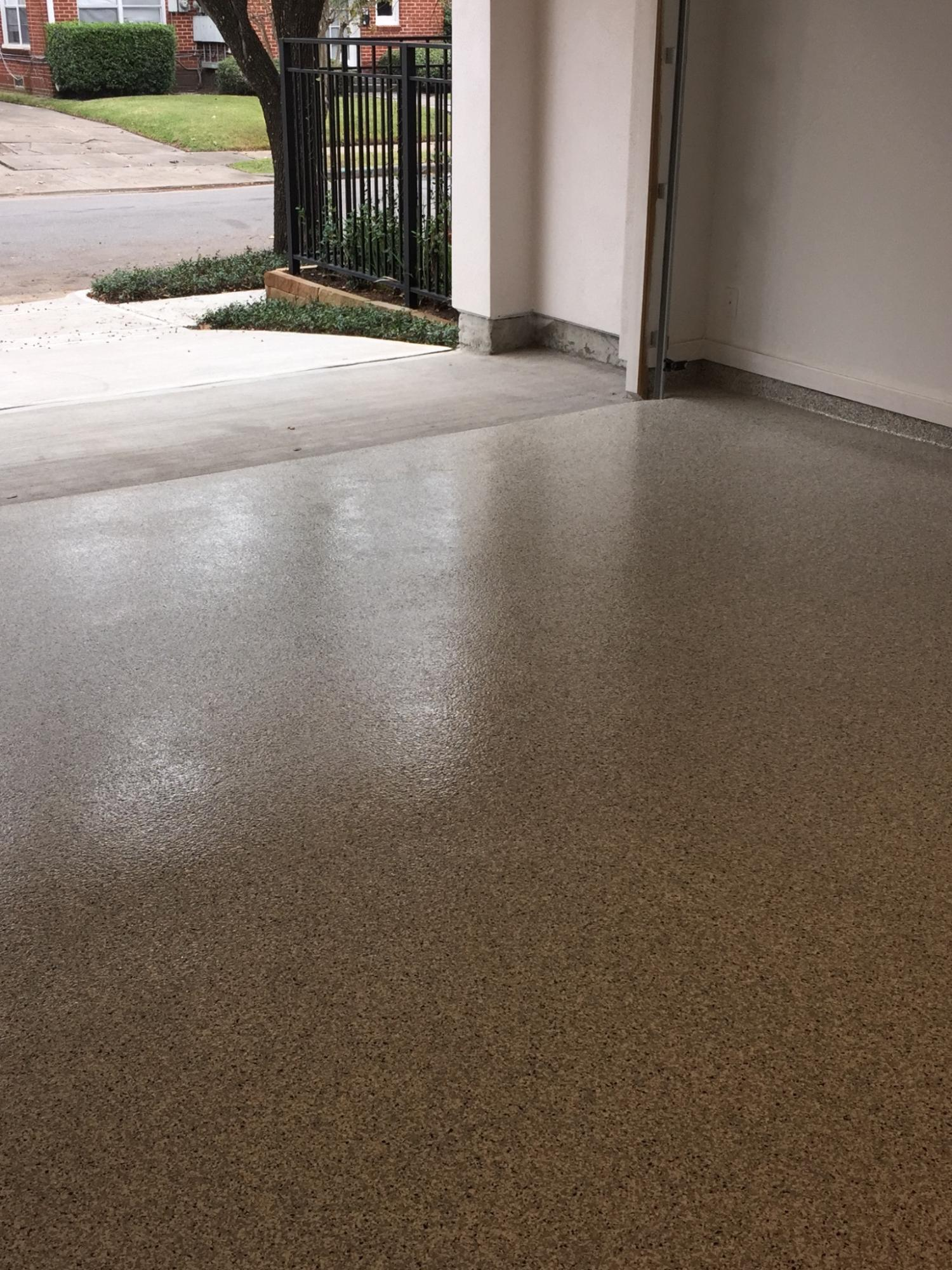 Epoxy garage floor 27