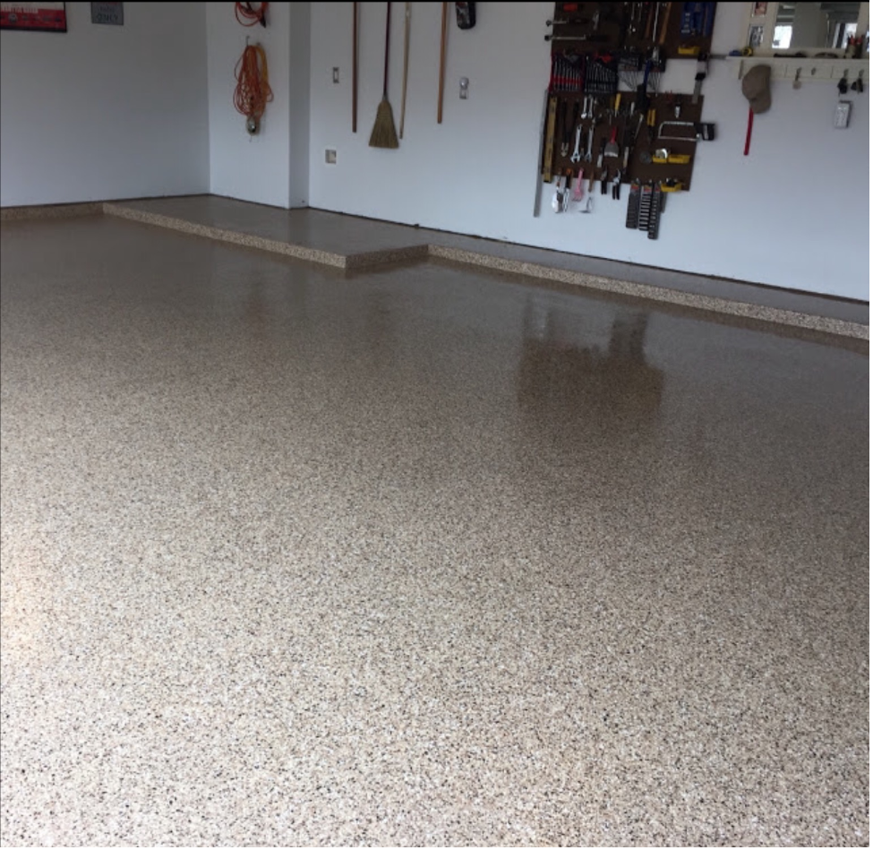 Garage floor epoxy 2