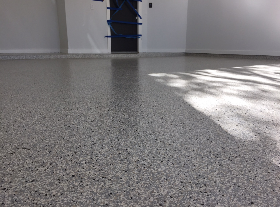 Epoxy garage floor 13