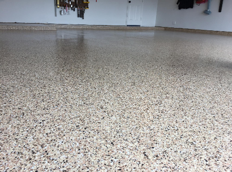 Epoxy garage floor 20