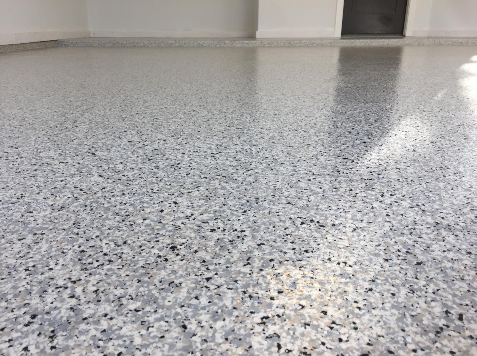 Epoxy garage floor 32