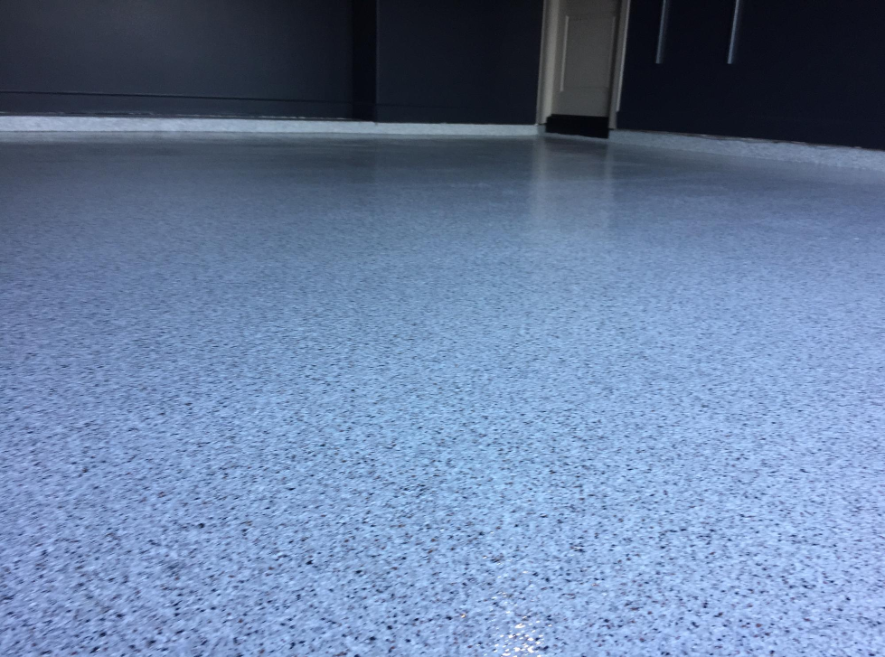 Epoxy garage floor 8