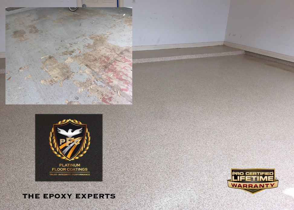Epoxy garage floor 33