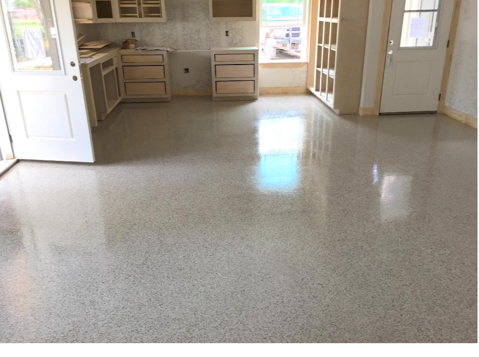 Epoxy garage floor 12