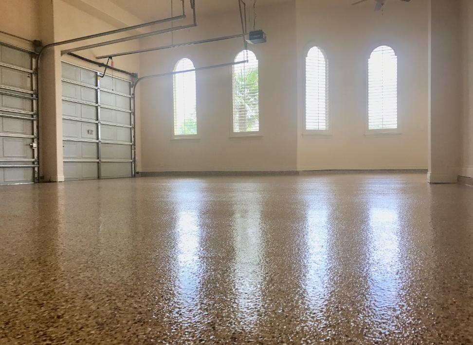 Epoxy garage floor 29